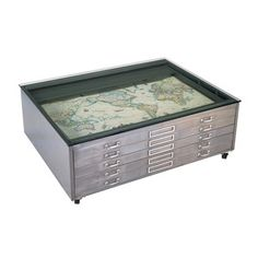 Architectural Coffee Table Gray now featured on Fab.