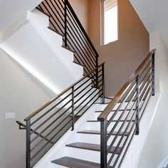 Modern Stair Railings Design Ideas, Pictures, Remodel, and Decor - page 6