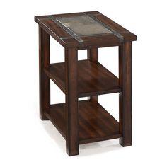 Magnussen Furniture Roanoke Chairside Table