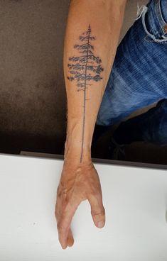 Tattoos on back – Tattoos And Pine Tattoo, Tattoo Tree, Tattoo Forearm, Forest Tattoos, Nature Tattoos, Cool Tattoos For Guys, Cute Tattoos, Journey Tattoo, Tree Tattoo Designs