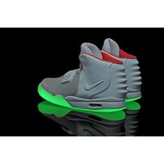 d95696c27c7c1 buy nike air yeezy 2 wolf grey pure platinum glow in the dark free shipping  from china