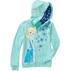 Disney Frozen Elsa Hoodie Girls - http://www.fivedollarmarket.com/disney-frozen-elsa-hoodie-girls/