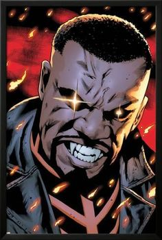 Mighty Avengers 9 Featuring Blade by Greg Land Marvel Comics Plastic Sign - 30 x 46 cm Marvel Comics Art, Marvel Comic Universe, Comics Universe, Marvel Heroes, Marvel Avengers, Comic Books Art, Comic Art, Book Art, Blade Marvel