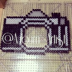 Kodak photo frame perler beads by auburn_artist