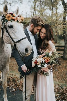 Extraordinary Engagement Session Featuring a White Horse in Dahlonega Georgia Before Wedding Pictures, Horse Wedding Photos, Family Wedding Pictures, Wedding Picture Walls, Outdoor Wedding Pictures, Wedding Picture Poses, Wedding Pics, Wedding Ideas, Wedding Photoshoot