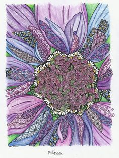 Wanda Rader (18+ division) from In Full Bloom Coloring Book