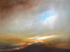 Low Cloud Lifting Oil on canvas 80x45cm