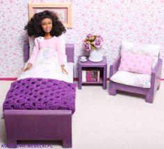 Sypialnia mała z fotelem :)