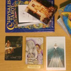 #tarot #tarotreadings #tarotperspective hosted by @thetruthinstory and @inthe78cards My question was what should I focus on today my normal draw but I guess I was thinking of a client's project too much and it came through. Very spot on however. Amazing how different the cards look and the meanings are slightly different as well. I broke out the books to compare. I find it interesting that the Chrysalis meaning is vastly different than the other two and the image shows it there is a lack of…