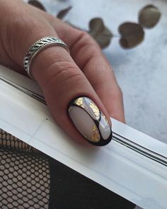 Black Nails, White Nails, Finger, Acrylic Gel, Autumn Nails, Pretty Hands, Fancy Nails, Easy Nail Art, Gel Manicure
