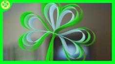 18 pasków papieru... i koniczyna jest już gotowa... A jak powstaje? Zobaczycie to w naszym najnowszym filmiku :)   #koniczyna #koniczynka #wiosna #spring #shamrock #spring #instrukcja #instruction #diy #zróbtosam #handmade #tutorial #poradnik #jakzrobić #howto #sposóbwykonania #craft #crafts #papercraft #youtube #YouTube #film #filmik #movie #wideo #video #lubietworzyc