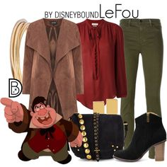 Disney Bound: LeFou from Disney's Beauty and the Beast