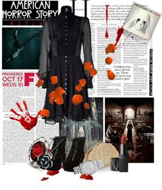 """American Horror Story: Asylum"" by katherine-59 ❤ liked on Polyvore"