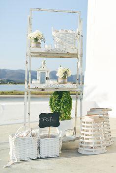 στολισμος-γαμου-θαλασσα-1 Vignettes, Ladder Decor, Backdrops, Wedding Dresses, Tips, Ideas, Home Decor, Christening, Bride Dresses