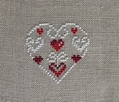 Thrilling Designing Your Own Cross Stitch Embroidery Patterns Ideas. Exhilarating Designing Your Own Cross Stitch Embroidery Patterns Ideas. Wedding Cross Stitch, Xmas Cross Stitch, Cross Stitch Heart, Cross Stitch Alphabet, Cross Stitching, Learn Embroidery, Cross Stitch Embroidery, Embroidery Patterns, Cross Stitch Designs