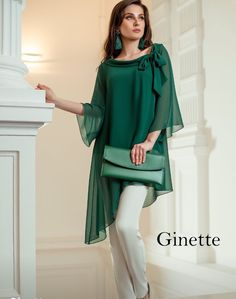 I just love this look especially the eye-catching blouse! I'd like to see it in White, Pink and Blue. Beautiful addition to any Wardrobe! Source by sabinedanzing dresses Pakistani Dresses Casual, Eid Dresses, Pakistani Dress Design, Stylish Dresses, Casual Dresses, Hijab Fashion, Fashion Dresses, Designs For Dresses, Mode Outfits