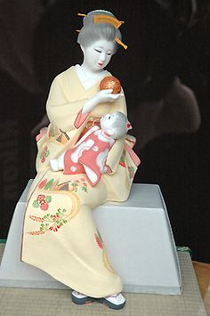 Japan Photo | Hakata doll = hakata-ningyo 博多人形 Japanese dolls