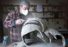 bonsai pots and art book binding Cement Art, Cement Crafts, Bonsai Art, Bonsai Garden, Bonsai Trees, Concrete Pots, Concrete Projects, Concrete Sculpture, Succulent Pots