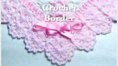 Easy Crochet border for any crochet or knit baby blanket #133 - YouTube