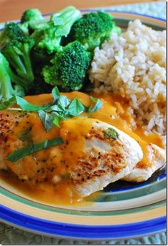 Lemon Chicken with Carrot Basil Sauce | Slimming Eats - Slimming World Recipes