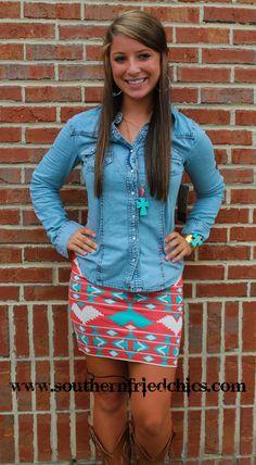 Jayden June Skirt- Coral $39.99!