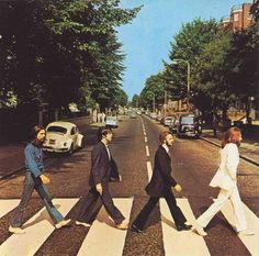 Abbey Road....The most iconic photo in music history...1969