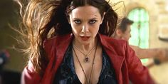 Elizabeth Olsen-Scarlet Witch