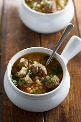 Moroccan-Meatball-and-Couscous-Soup-6 | by littlespicejar
