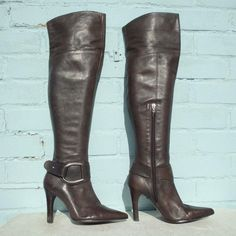 6a1a3f1939b Faith Leather Boots Size Uk 5 Eur 38 Womens Sexy Brown Thigh High Pull on  Pirate #Faith #CasualDressOutdoorPartyWorkSpecialOccasion
