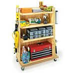 would be great to have a rolling cart like this for craft storage