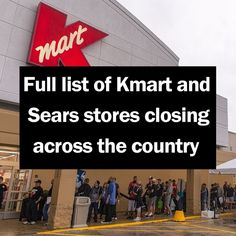 Several area K-Mart and Sears stores will be closing their doors by the end of March 2017.