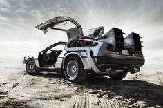 DMC DeLorean Back To The Future Replica. I've so needed one of these many times. Dmc Delorean, Delorean Time Machine, The Time Machine, Marty Mcfly, Back To The Future, Future Car, My Dream Car, Dream Cars, Dmc 12