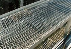 sample of expanded metal grating