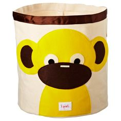 Monkey bin. Super cute, heavy duty and really big.  I got this for my 11 month old grandson's toys.