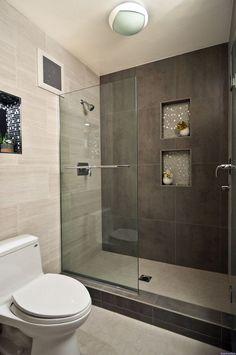 Nice 55 Clever Small Bathroom Design Ideas https://decorisart.com/27/55-clever-small-bathroom-design-ideas/ #smallbathroomrenovations