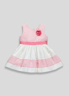 bda752de6f59 Girls Stripe Prom Dress (3mths-5yrs) - Matalan