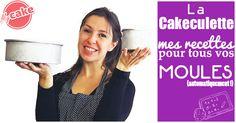 Difficile de calculer les quantités d'ingrédients pour vos moules personnels ? Voilà la Cakeculette pour convertir toutes mes recettes automatiquement ! ^^
