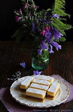 Mamina jela: Kaloš pita - prhka pita sa orasima i krem filom Bosnian Recipes, Croatian Recipes, Croatian Cuisine, Cinnamon Recipes, Cinnamon Apples, Cookie Recipes, Dessert Recipes, Desserts, Kolaci I Torte