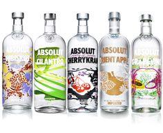 Diseño Botellas de ABSOLUT Vodka. http://www.ifitshipitshere.com/