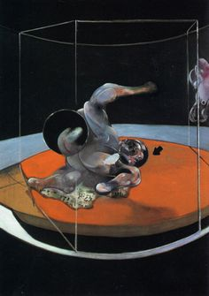 Figure In Movement by Francis Bacon, 1976