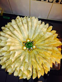 So pretty: A viewer made my wreath! Here's the video: http://www.evoxtelevision.com/video/?id=199