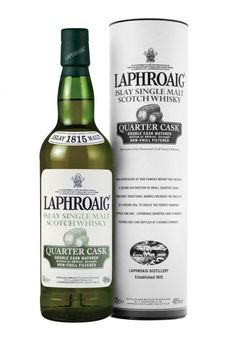 Laphroaig Quarter Cask takes its inspiration from the small casks often used for Scotch Whisky in the 19th century and frequently transported across the Glens by packhorse. (read more...)