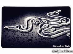 New OEM Color Razer Goliathus Gaming Mouse Mat Pad Black Speed 3D Edition #RazerOEM #Mousepad #Cool Mousepad #Razer #Gaming #