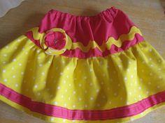 Ruffles & Ric Rac: Twirly Play Skirt - Tutorial #skirt #tutorial #littlegirl