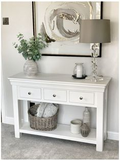 Large Console Table, Console Table Living Room, Entryway Console Table, Home Living Room, Living Room Decor, Console Table Decor, Hallway Console Table, Foyer, Hall Table Decor