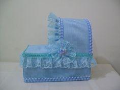 Caja cuna de baby shower - Imagui