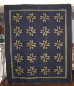 Antique Amish Stars Quilt | eBay