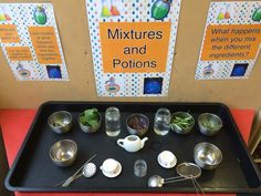 Potion play. Rosemary, sage, lavender.