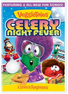 A Learning Journey: VeggieTales: Celery Night Fever Movie Review and Giveaway