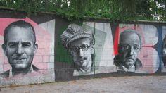 Drago Garvais, James Joyce, Vladimir Nabokov (Angiolina park, Opatija, Chorwacja)